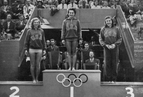 Olympische Frauen im letzten Jahrhundert