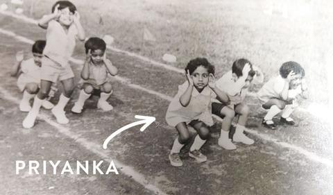 Priyanka Swamy und das Froschrennen