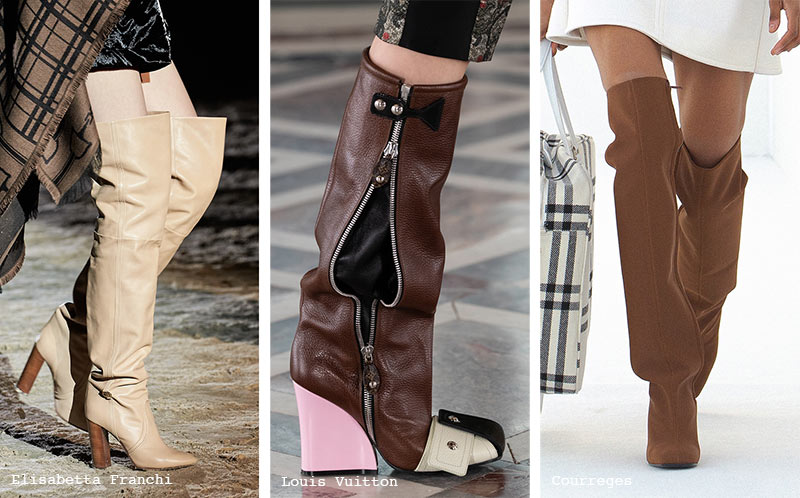 Schuhtrends Herbst/ Winter 2021-2022: Slouchy Boots