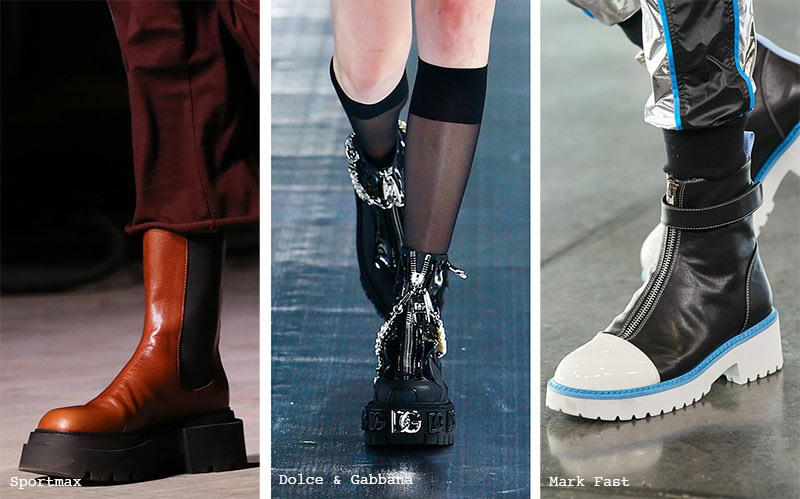 Schuhtrends Herbst/ Winter 2021-2022: Chunky Shoes & Boots