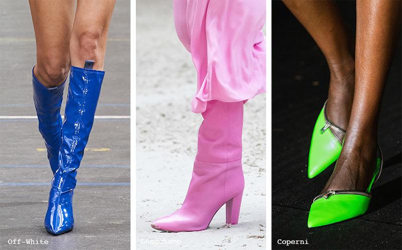 Schuhtrends Herbst/ Winter 2021-2022: Bunte Schuhe & Stiefel