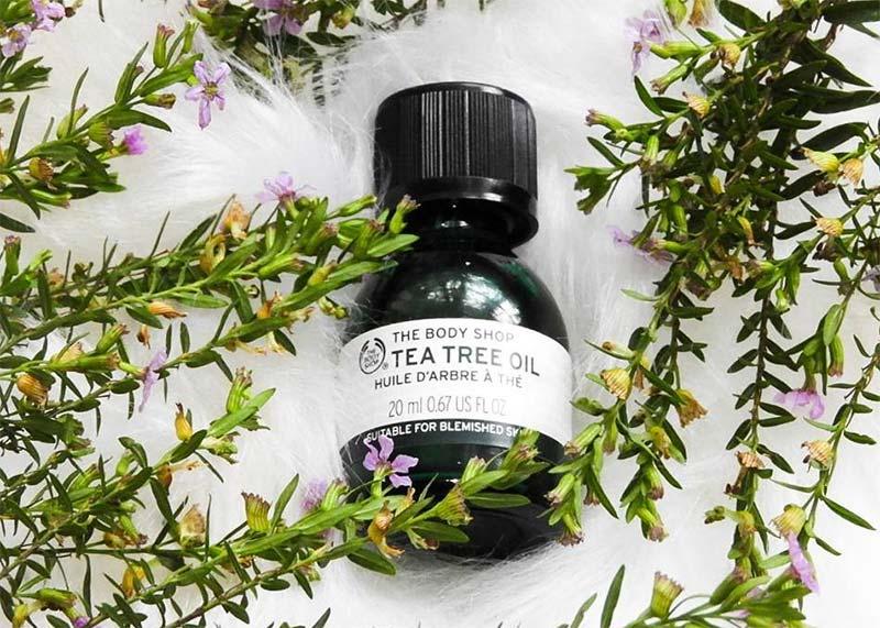 Teebaumöl zur Hautpflege