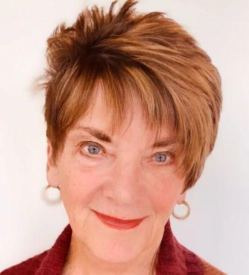 Ältere Kurzhaarfrisuren für feines Haar über 60