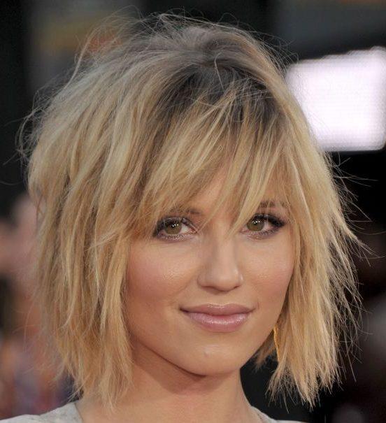 Zottelige Haarschnitte schichten