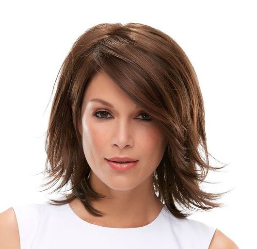 Kurze zottelige Haarschnitte für feines Haar
