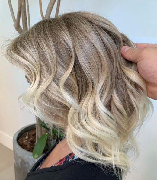 dünnes haar kurze blonde haarschnitte