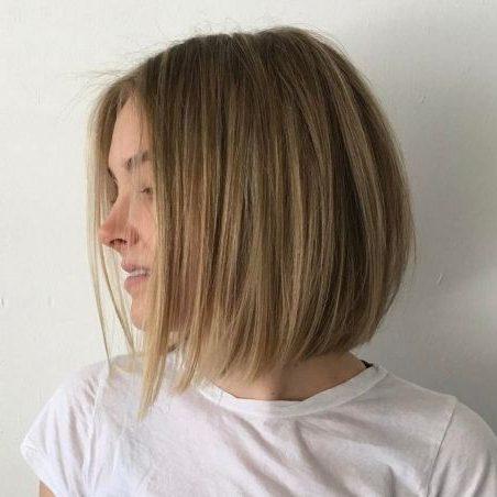 mittelblondes Haar