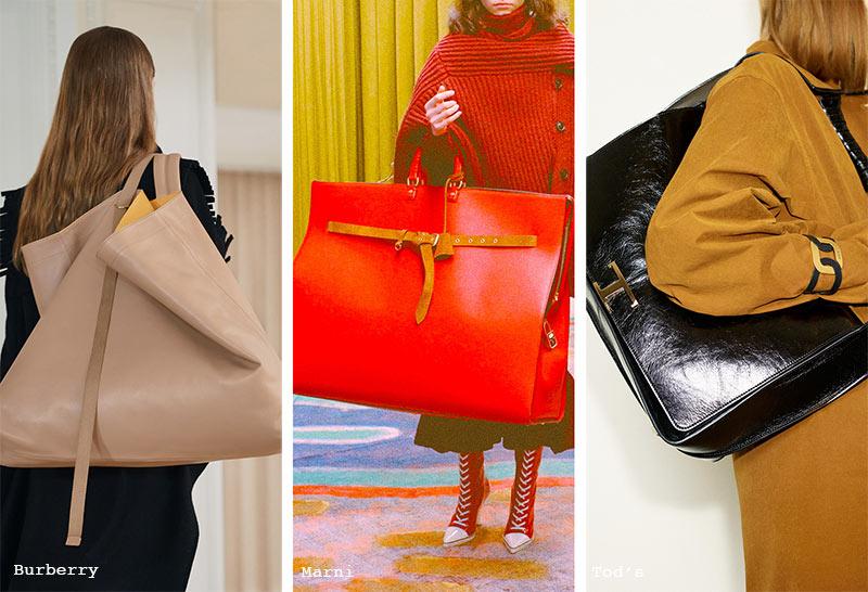 Handtaschen-Trends Herbst/ Winter 2021-2022: Übergroße Taschen