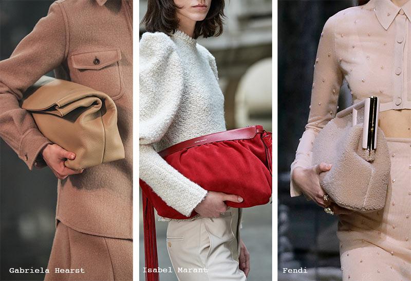 Handtaschen-Trends Herbst/ Winter 2021-2022: Slouchy Clutches