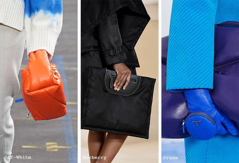 Handtaschen-Trends Herbst/ Winter 2021-2022: Puffy Bags