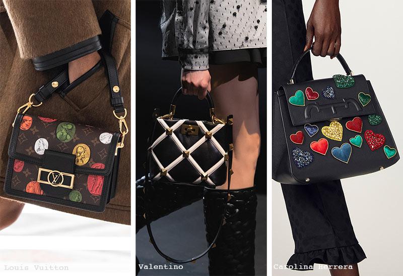 Handtaschen-Trends Herbst/ Winter 2021-2022: Taschen mit Verzierungen