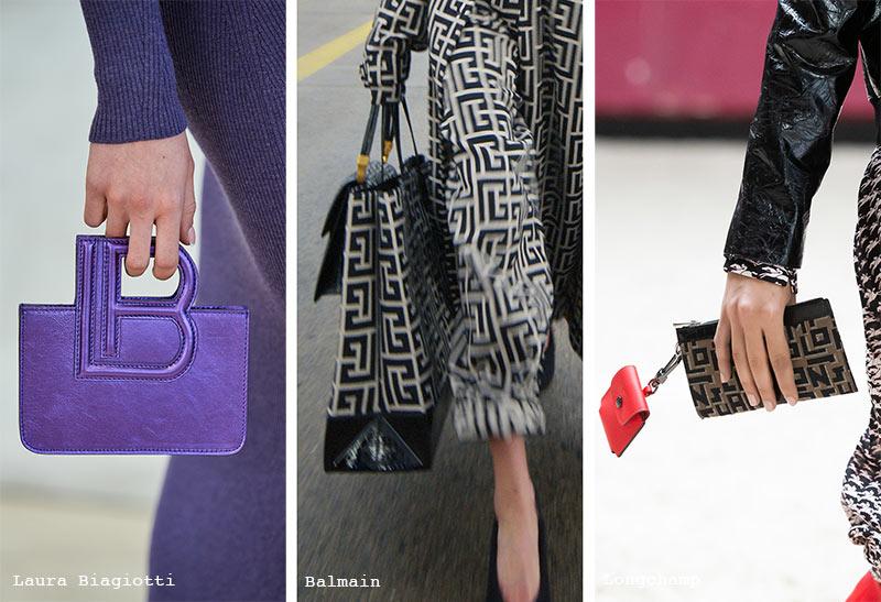 Handtaschen-Trends Herbst/ Winter 2021-2022: Monogramm-Taschen