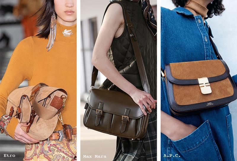 Handtaschen-Trends Herbst/ Winter 2021-2022: Messenger Bags