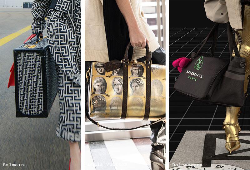Herbst/Winter 2021-2022 Handtaschen-Trends: Reisetaschen