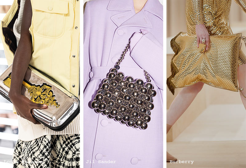 Handtaschen-Trends Herbst/ Winter 2021-2022: Metallic-Taschen