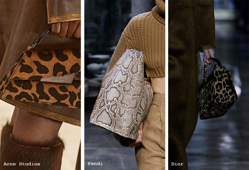 Handtaschen-Trends Herbst/ Winter 2021-2022: Taschen mit Animal-Print