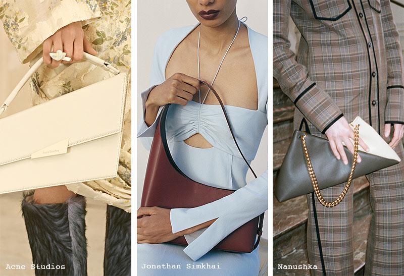 Handtaschen-Trends Herbst/ Winter 2021-2022: Asymmetrische Taschen
