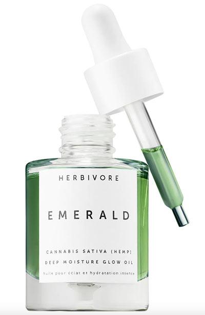 Beste Hanfsamenölprodukte für die Haut: Pflanzenfresser Emerald Cannabis Sativa Hanfsamen Deep Moisture Glow Oil