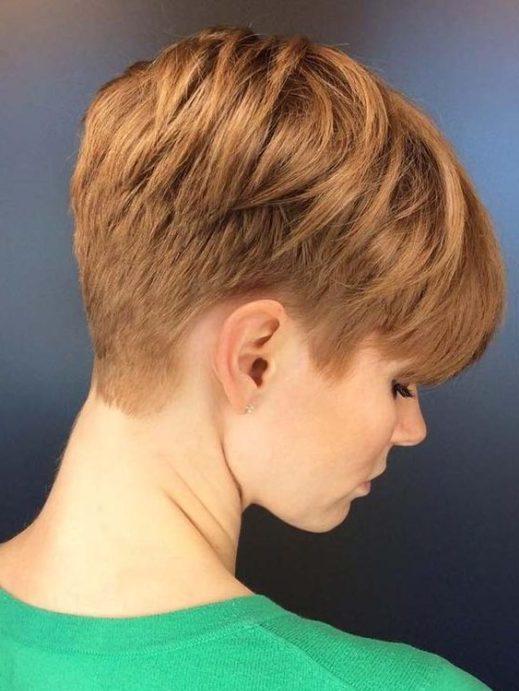 weiblicher verblassen haarschnitt