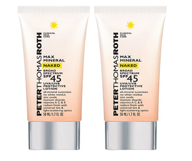 Peter Thomas Roth Max Mineral Naked SPF 45 Sonnencreme Duo