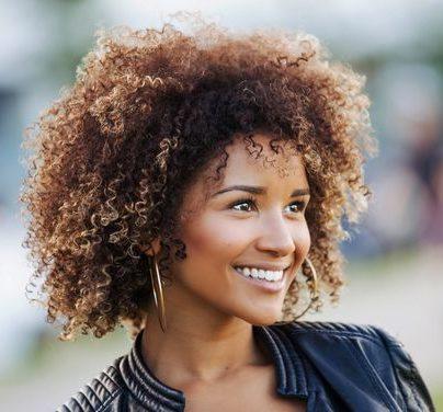 Ombre Haarfarbe für braune Haut