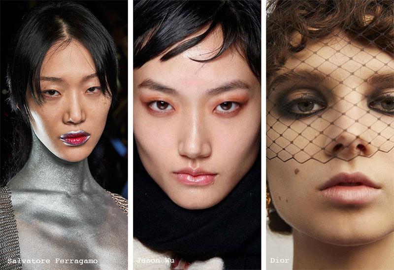 Herbst/Winter 2021-2022 Make-up-Trends: Seifenbrauen