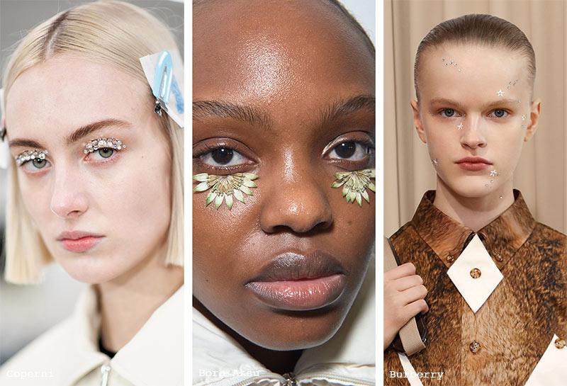 Make-up-Trends Herbst/Winter 2021-2022: Gesichtsaufkleber