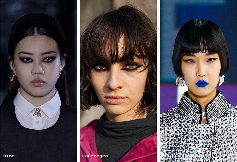 Make-up-Trends Herbst/ Winter 2021-2022: Inky Graphic Eyeliner