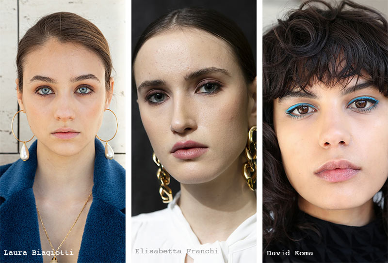 Herbst/Winter 2021-2022 Make-up-Trends: Nackte Lippen
