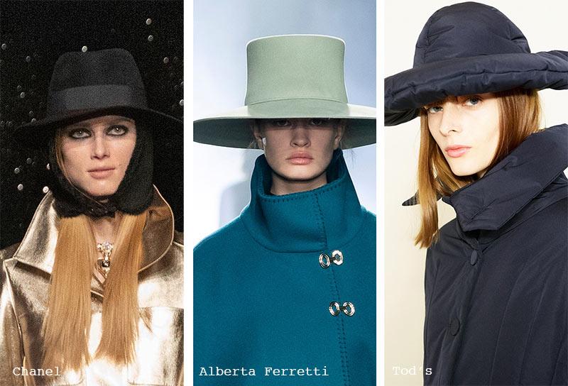 Huttrends Herbst/ Winter 2021-2022: Hüte mit breiter Krempe