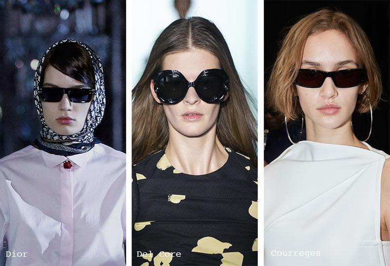 Sonnenbrillen-Trends Herbst/ Winter 2021-2022: Sonnenbrillen mit schwarzem Rahmen