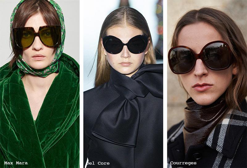 Sonnenbrillen-Trends Herbst/ Winter 2021-2022: Oversized Bug-Eyed Sonnenbrillen