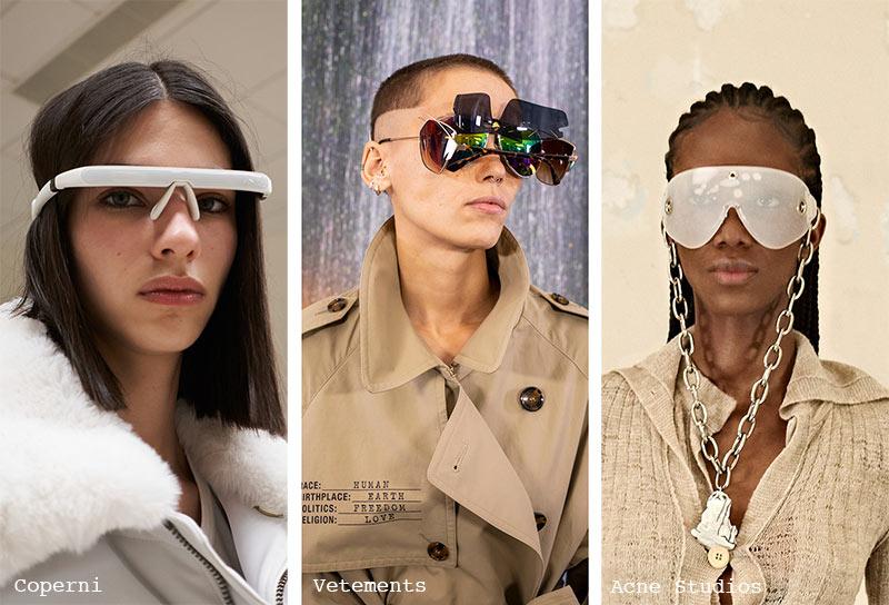 Sonnenbrillen-Trends Herbst/ Winter 2021-2022: Futuristische Sonnenbrillen