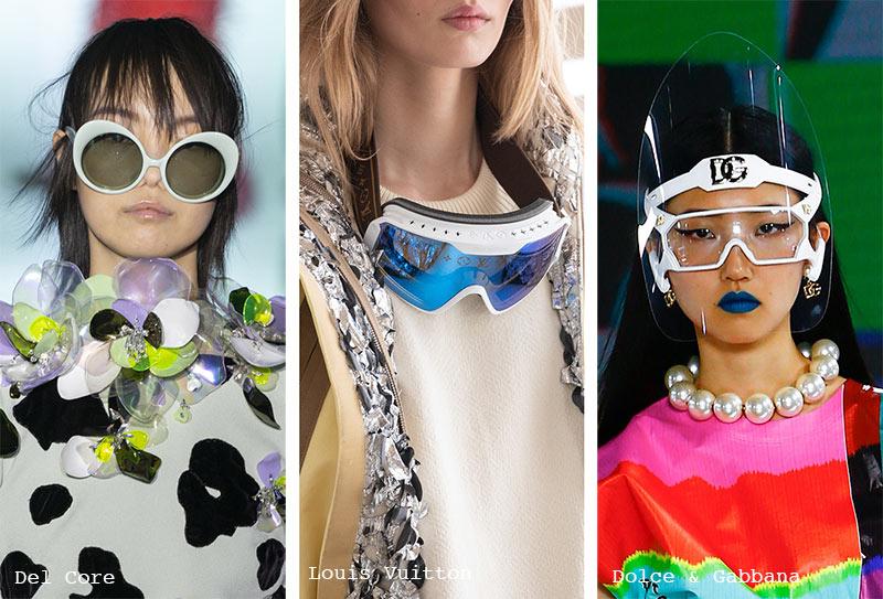 Sonnenbrillen-Trends Herbst/ Winter 2021-2022: Sonnenbrillen mit weißem Rahmen