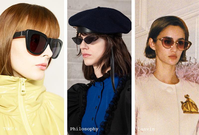 Sonnenbrillen-Trends Herbst/ Winter 2021-2022: Cat-Eye-Sonnenbrillen