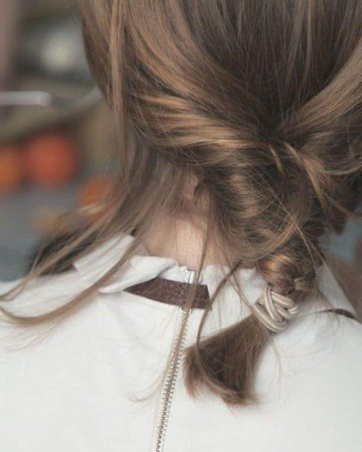 Süße Frisuren für die Mittelschule für kurze Haare