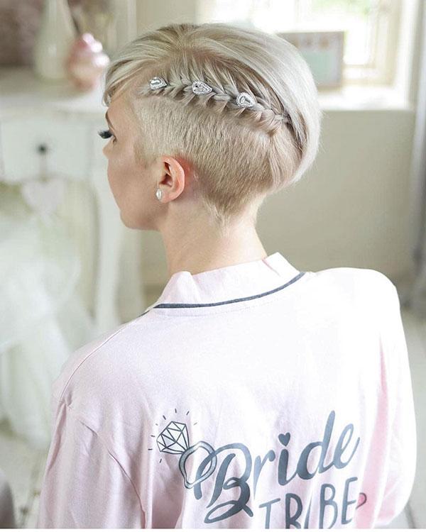 Frisuren für Pixie-Schnitte