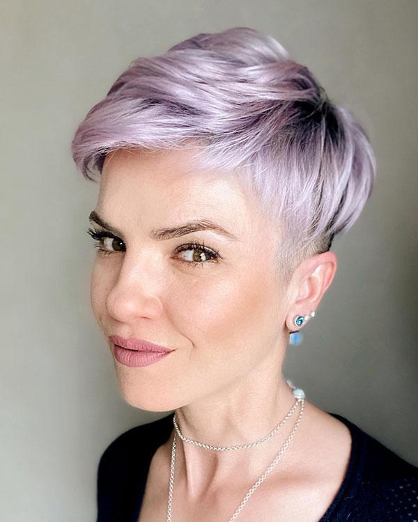 trendige Pixie-Frisuren 2021