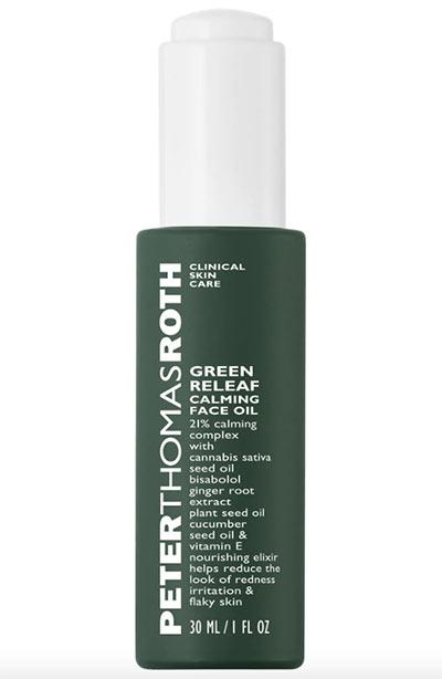 Beste Hanfsamenölprodukte für die Haut: Peter Thomas Roth Green Releaf Calming Face Oil