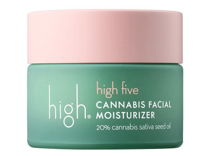 Beste Hanfsamenölprodukte für die Haut: High Beauty High Five Cannabissamen-Gesichtsfeuchtigkeitscreme
