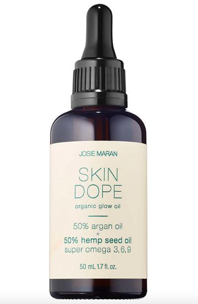 Beste Hanfsamenölprodukte für die Haut: Josie Maran Skin Dope Argan + Hanföl