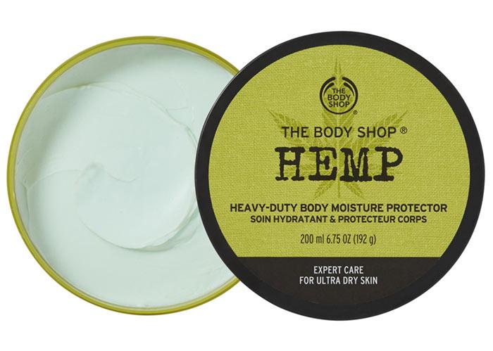 Beste Hanfsamenöl-Produkte für die Haut: The Body Shop Hanf-Körperbutter