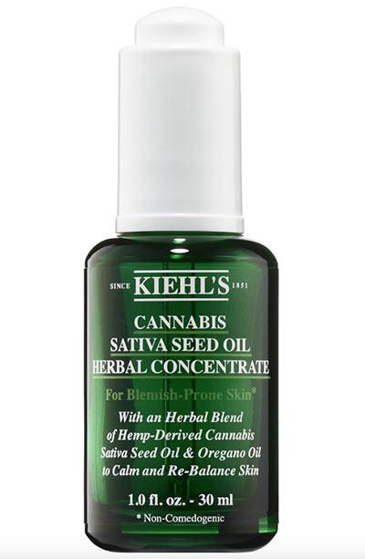 Beste Hanfsamenölprodukte für die Haut: Kiehl's Since 1851 Cannabis Sativa Seed Oil Herbal Concentrate