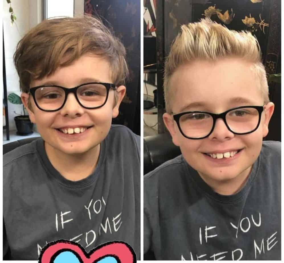 Stachelige coole Haarschnitte für Jungen 2022