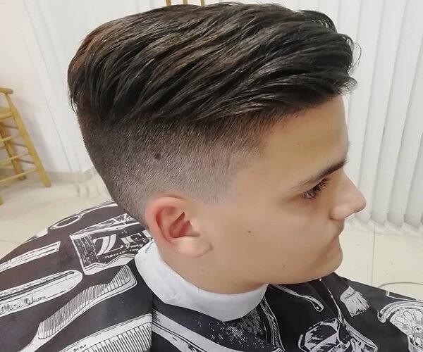 Haarschnitt verblassen