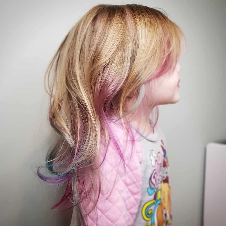 Coole Frisuren für Mädchen 2022 im Alter von 3 – 4 Jahren