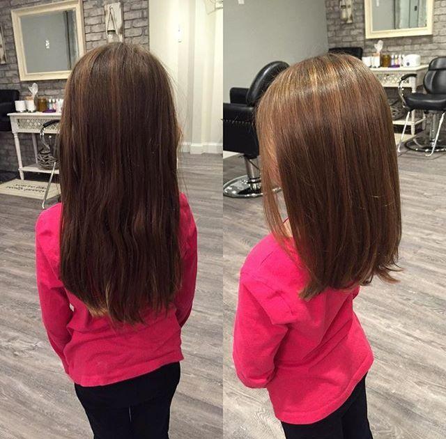 A-Linien-Haarschnitt