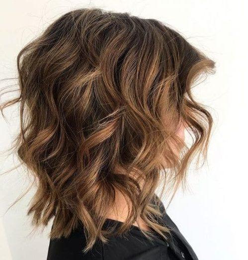 pflegeleichte Bob-Haarschnitte für dickes Haar