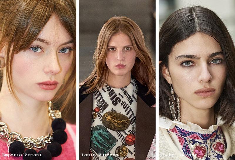 Herbst/Winter 2021-2022 Make-up-Trends: Kein Make-up-Make-up