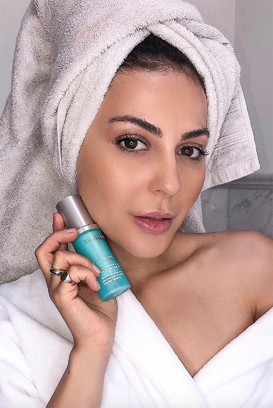 Poren effektiv verkleinern